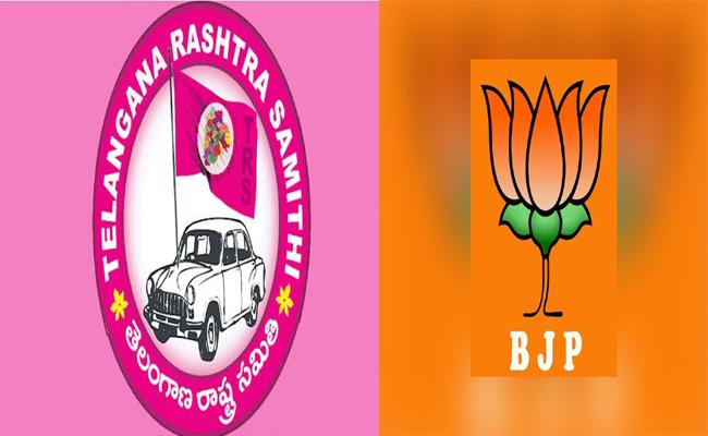 TRS Party Target BJP In Muncipal Elections - Sakshi