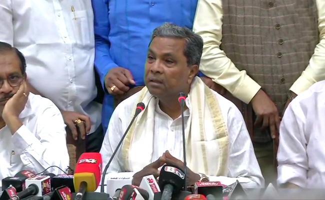 Siddaramaiah Warning To Rebel MLAs - Sakshi