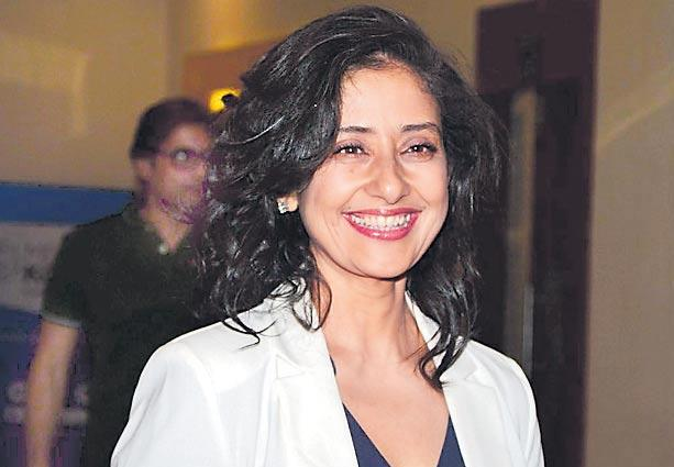 Netflix Indian Film Maska Casts Manisha Koirala - Sakshi