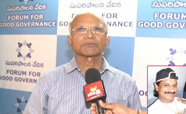 Padmanabha Reddy Comments On Nayeem Case - Sakshi
