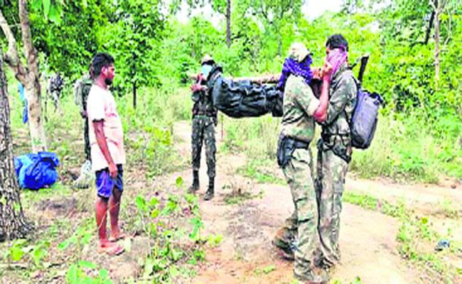 Maoist Leader Linganna Died In Police Encounter In Khammam - Sakshi