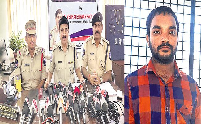 Alcohol Addicted Thief Arrested in Hyderabad - Sakshi