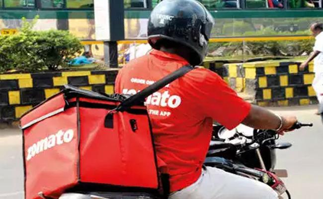 Users Criticism On Zomato App Pointing Halal Tag - Sakshi