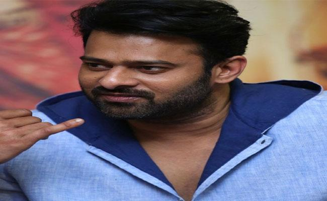 I Didn't Want to Give 2 Years Time to Saho: Prabhas - Sakshi