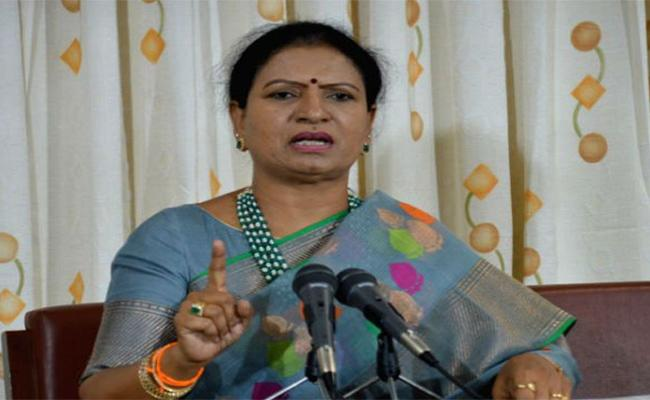 DK Aruna Commented That BJP Will Become Strong By 2023 In Telangana - Sakshi