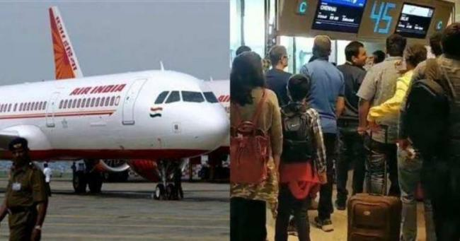 Highest domestic air passenger growth in Telugu States - Sakshi