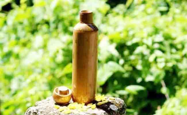 Assam IIT Former Student Makes Leak Free Bamboo Water Bottles - Sakshi