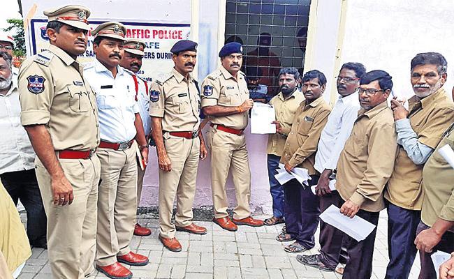 My Auto is Safe Address Registration in Hyderabad - Sakshi