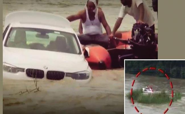 Haryana Man Pushes New BMW In River After Father Denies Jaguar - Sakshi