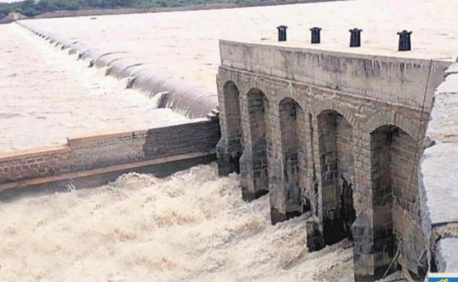 Krishna Water Flows To Rajoli Dam In Kadapa - Sakshi