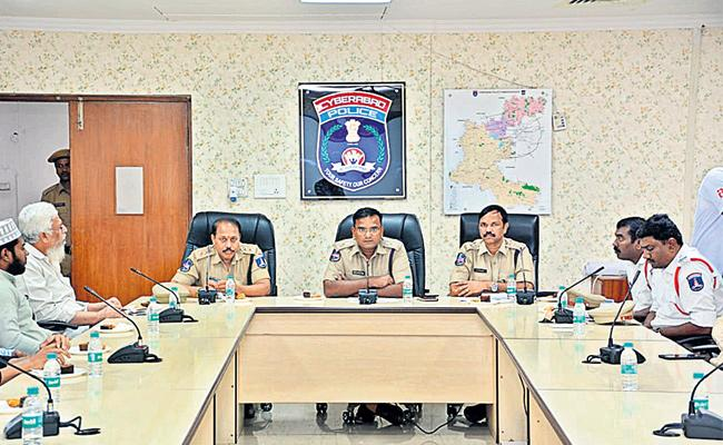 Police Meeting With Function Halls Owners Hyderabad - Sakshi