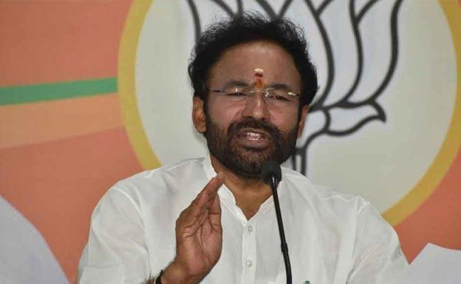 Kishan Reddy Special Chit Chat Over Article 370 Abrogation - Sakshi