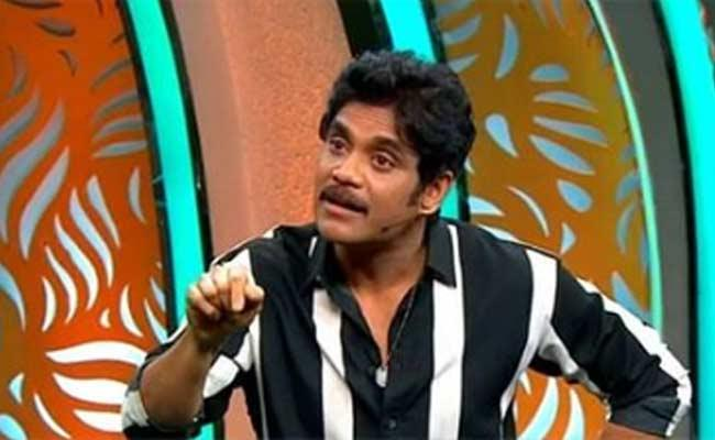 Bigg Boss 3 Telugu Nagarjuna Fires In Third Weekend Episode - Sakshi
