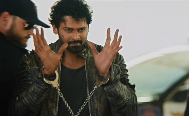 Prabhas Saaho Trailer Is Released - Sakshi