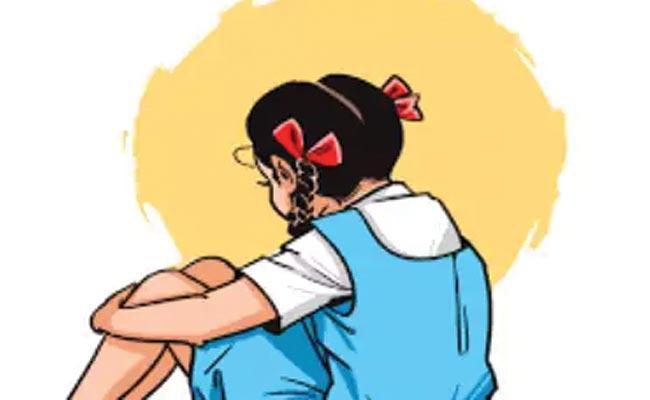 Case Registered On School Teacher For Molesting Students - Sakshi