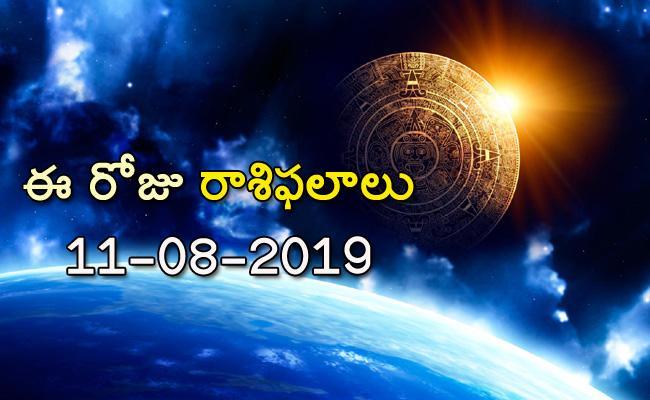 Daily Horoscope In Telugu 11-08-2019 - Sakshi