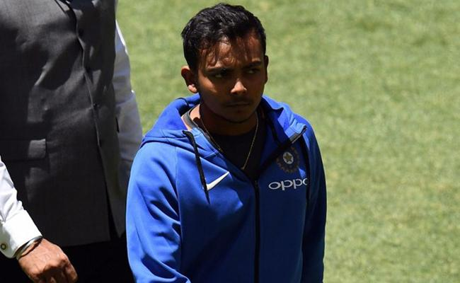 Another Twist in Prithvi Shaw Dope Test - Sakshi