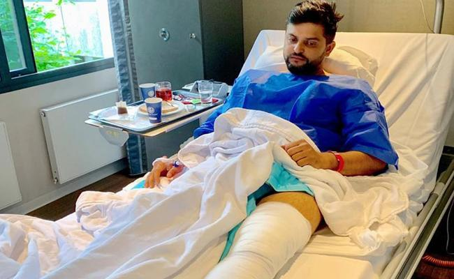Second Knee Surgery Was a Tough Call To Make, Raina - Sakshi