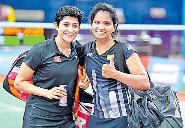 Sourabh Verma, Ashwini Ponnappa-Sikki Reddy Enter Final - Sakshi