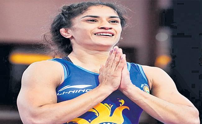 Vinesh Phoghat Is Focused On Fourth Gold Medal In Medved Open Tournment In Belaras - Sakshi