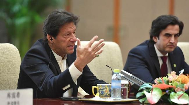 Imran Khan Alleges India Attempting To Change Kashmirs Demography - Sakshi