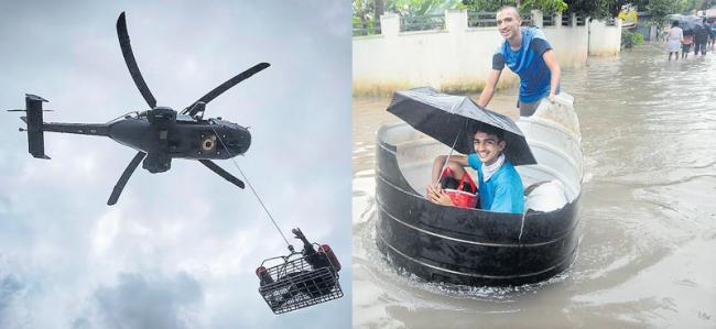 Flood death toll rises to 119 - Sakshi