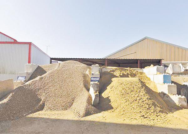 Sand from concrete - Sakshi