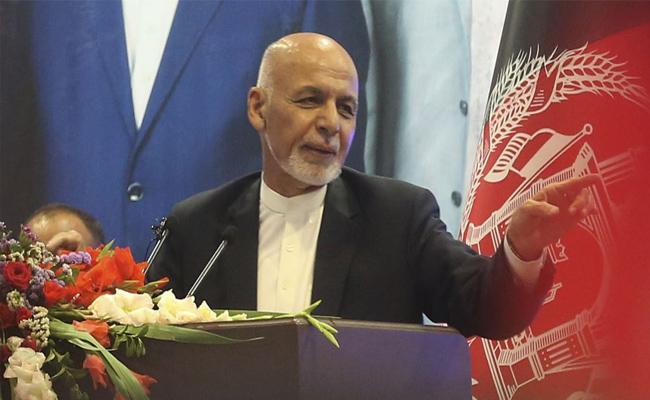 Afghan President Ashraf Ghani Fires on America - Sakshi