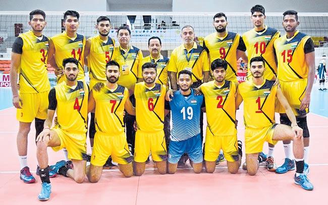 Indian spikers settle for silver in U-23 Asian Championship - Sakshi