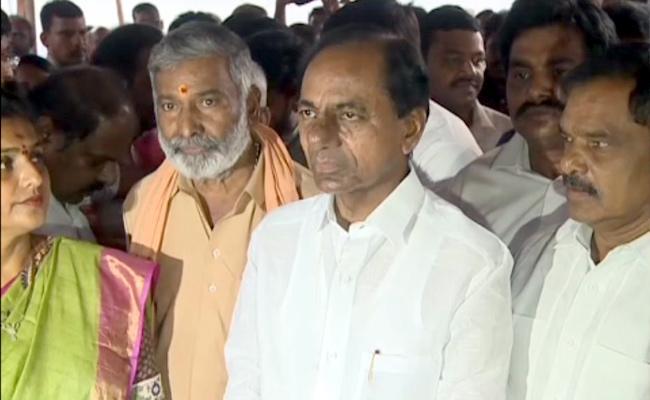 KCR Comments Over Rayalaseema Development In Nagari - Sakshi