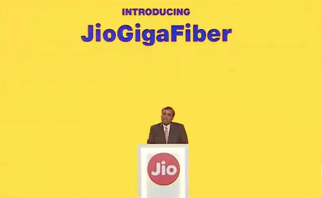 Reliance AGM 2019 JioGigaFiber reveal expected - Sakshi