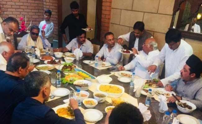 Karnataka BJP Slams Siddaramaiah Over Biryani Party - Sakshi