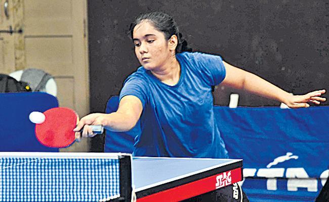 Varuni Jaiswal Bags a Golden Double - Sakshi