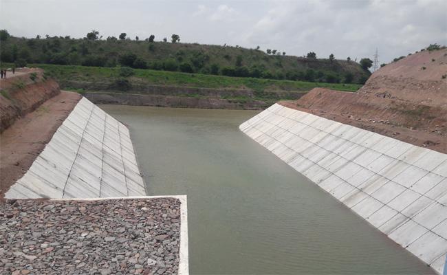 Kaleshwaram Project Has Full Water Flow At Ramadugu - Sakshi