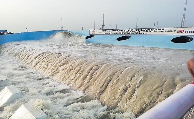 Kaleshwaram Project Work Progress Successful In Telangana - Sakshi