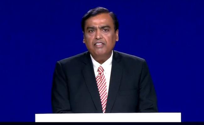 Ril Agm Started CMD mukesh Ambani addressing  - Sakshi