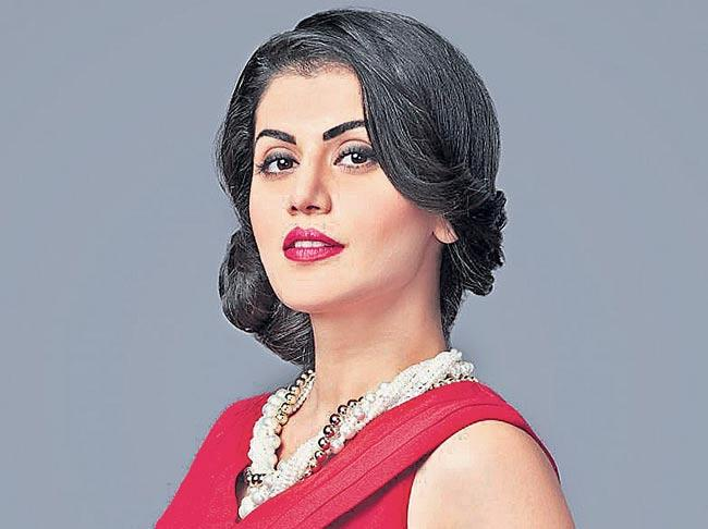 Taapsee Pannu on her supernatural-thriller with Anurag Kashyap - Sakshi