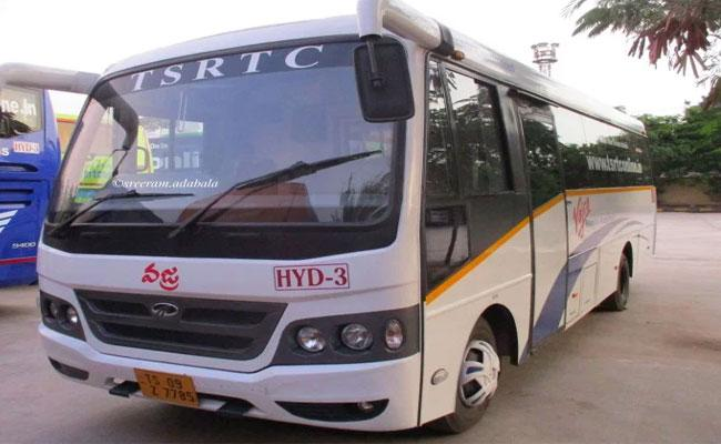 In 11 Vajra Buses 9 Moved To Another Depot In Nizmabad  - Sakshi