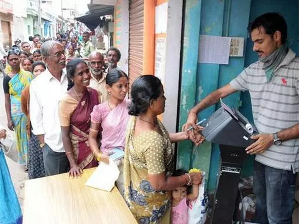 Ration goods from any where with Ration portability System - Sakshi