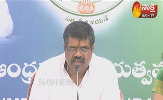 Minister Avanthi Srinivas Comments On Chandrababu in Vizag - Sakshi