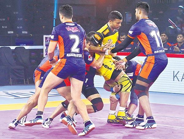 Telugu Titans face another big test against Bengal Warriors - Sakshi