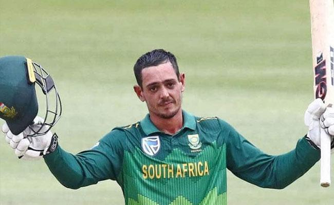 Wicket Keeper Quinton de Kock to lead South Africa - Sakshi