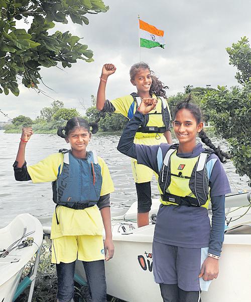 Preeti Selects For Indian Regatta Team - Sakshi