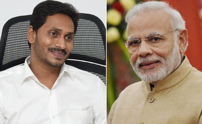 PM Modi Invited For Rythu Bharosa Inauguration Program Says CM Jagan - Sakshi
