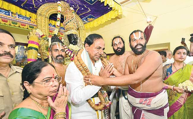 CM KCR Says Rayalaseema Will Become Ratnala Seema - Sakshi