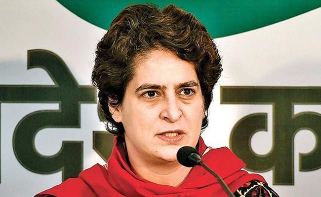 Priyanka Gandhi Reacts on Scrapping Article 370 - Sakshi