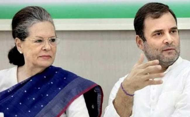 Sonia Gandhi Is Back As Congress President - Sakshi