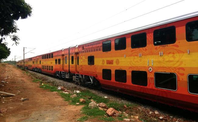 Uday Express Trial Run Success - Sakshi