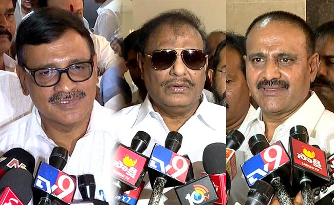 YSRCP Candidates Filed Nominations For MLC Elections - Sakshi