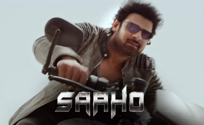 Prabhas Saaho Worldwide Pre Release Business - Sakshi